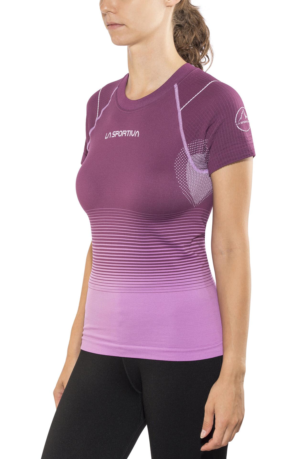 Sportiva Medea Violeta Camiseta Mujer La Running orCWxQBed